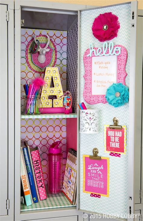 girly locker wallpaper add your own personality to your school space simply mix