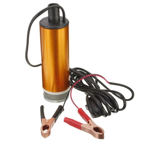 Pompa Air Mini Diesel 12v mini portable aluminum alloy diesel water