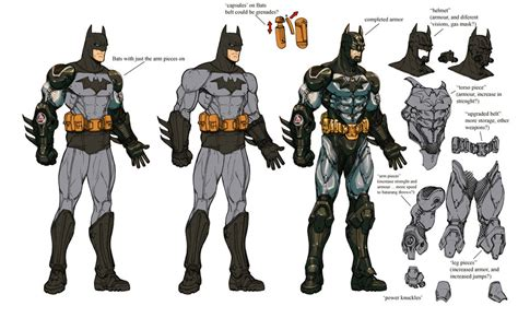 Kaos Tshirt Armour Batman Vs Superman 2nd Version the batman universe batman arkham asylum concept