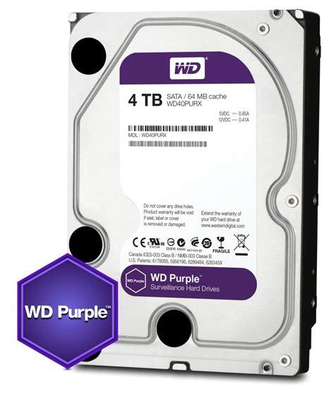 Wd Purple 3 5inch western digital launches wd purple 3 5 inch 4tb drive