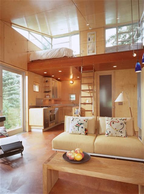C 3 Cabin And Plans 480 Sq Ft Modern Loft Tiny Home Modern Tiny House Plans With Loft