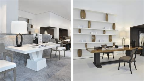 Handcrafted Dining Room Tables by Christian Liaigre New Store On Mayfair