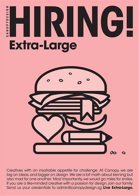 graphics design recruitment agency creative recruitment ad by singapore agency canopydesign