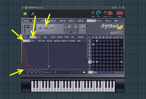 volume envelope pattern fl studio using volume envelope in the filter module how to make