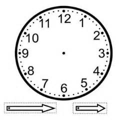 make your own clock template make your own clock template craft printable templates