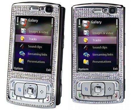 Nokia N95 Gets More Desirable With Diamonds by Articles Antonrifco S Memoir