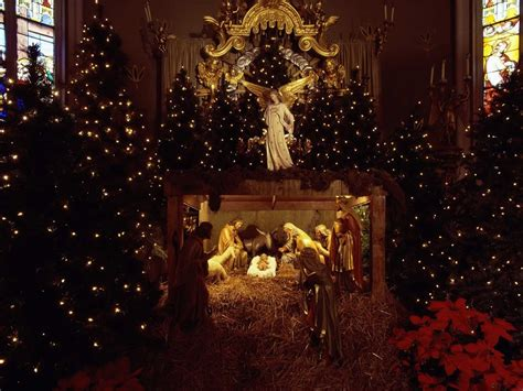blessed is the king christmas nativity