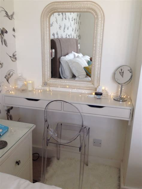 ikea dressing table hack dressing table ikea hack ekby alex farrow and