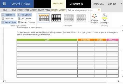 school project template school project task list maker template for word