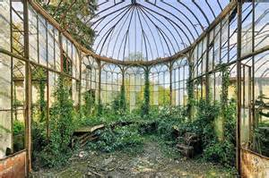 Decorative Plant Abandoned Greenhouse Retains A Haunting Elegance Urban