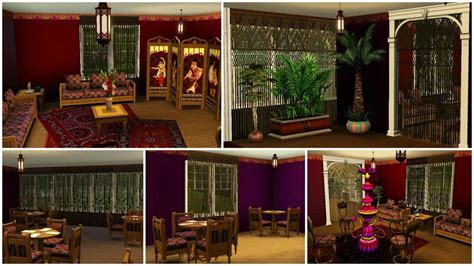 sims 3 custom content middle east mod the sims hookah bar