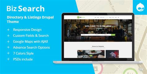 drupal themes with slider free download bizsearch directory listing drupal theme free download