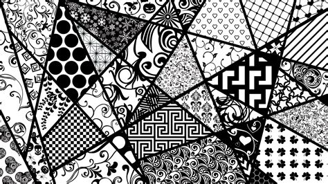 black and white vector wallpaper black and white shapes wallpaper vector wallpapers 3782