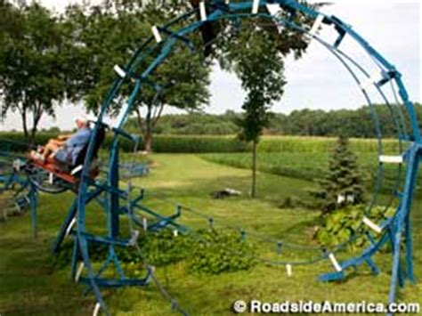 how to build a backyard roller coaster backyard roller coasters of john ivers bruceville indiana