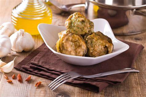 cucinare i carciofi ripieni carciofi ripieni senza carne ricetta unadonna