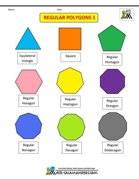 What Is The Name Of A 3d Hexagon Quora - regular shapes