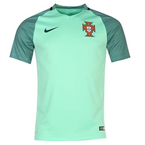 Portugal Away 2016 by 2016 2017 Portugal Away Nike Football Shirt 724700