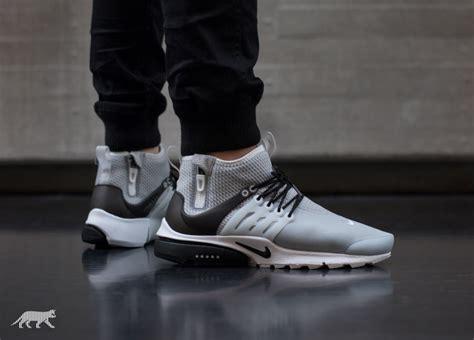 Nike Presto Utility Mid Grey nike air presto mid utility wolf grey black white
