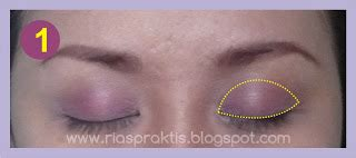 Gambar Eyeshadow Inez juli 2012 rias praktis