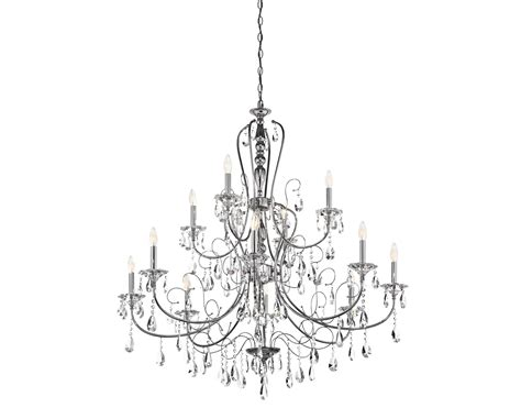 Wall Paint Color by Jules Collection 12 Light Chandelier In Polished Chrome