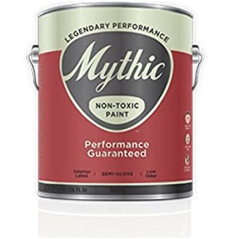 Non Toxic Interior Paint by Mythic Non Toxic Paint Semi Gloss Enamel Gallon Water Based Interior House Paints