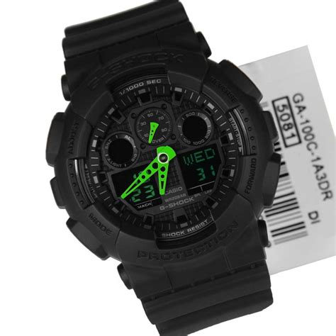 Ga 100c casio g shock analog digital sports ga 100c 1a3dr ga