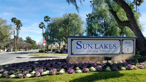 sun lakes  banning california  community