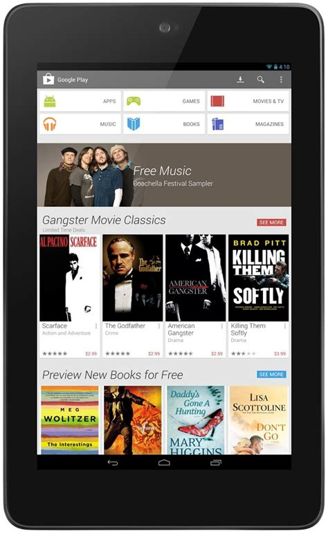 play store for android tablet play store for tablets