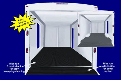Trailer Floor Mats by Roll Out Trailer Floor Covering Trailer Liners