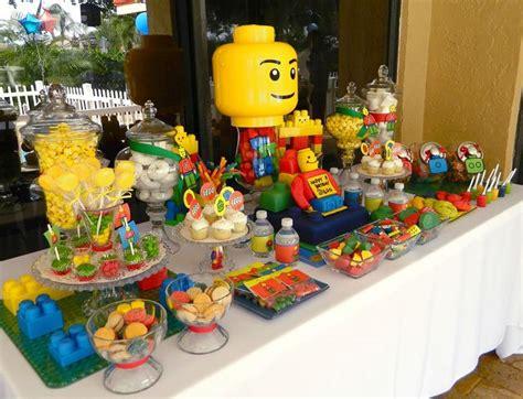 lego themed birthday decorations lego birthday ideas 8th birthday birthdays