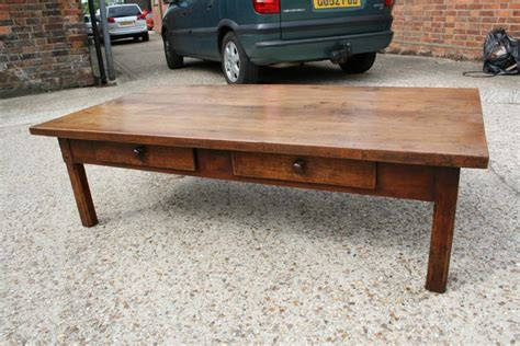 vintage burr walnut style coffee table c 1950