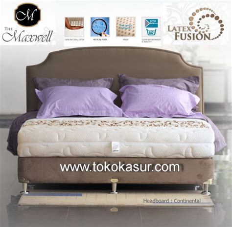 Guhdo Indulgence 90x200 Springbed Kasur quantum maxwell fusion 24 cm toko kasur bed murah simpati furniture