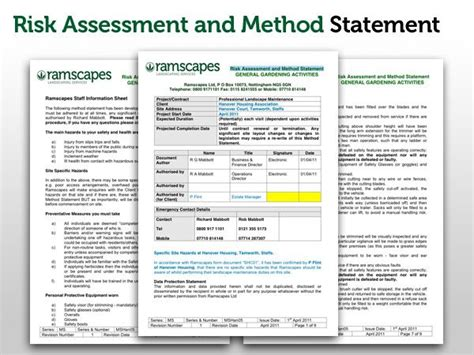 32 method statement template for construction method