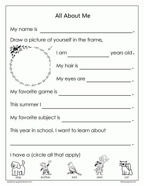 Resume About Me Page Fast All About Me Coloring Pages Resume Format Pdf Coloring Home