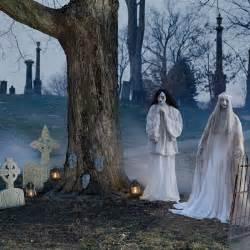 Halloween Decorations Graveyard Unsettling Halloween Graveyard Scene Halloween