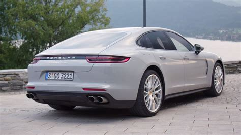 porsche panamera turbo 2017 white 2017 porsche panamera turbo detailed in a trio of colors