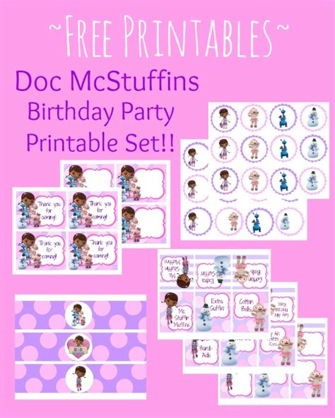 Doc Mcstuffins Printable Images