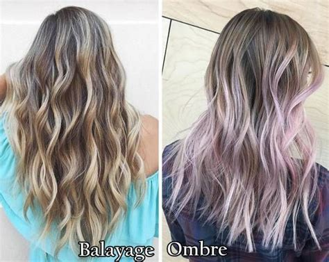 balayage hair color vs ombre balayage vs ombre what is a balayage and an ombre which