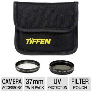Filter Uv 37mm T2909 tiffen 37ptp 37mm photo pack box uv protection filter circular polarizer filter pouch