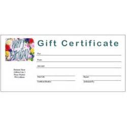birthday gift certificate template free 6 free printable gift certificate templates for ms publisher