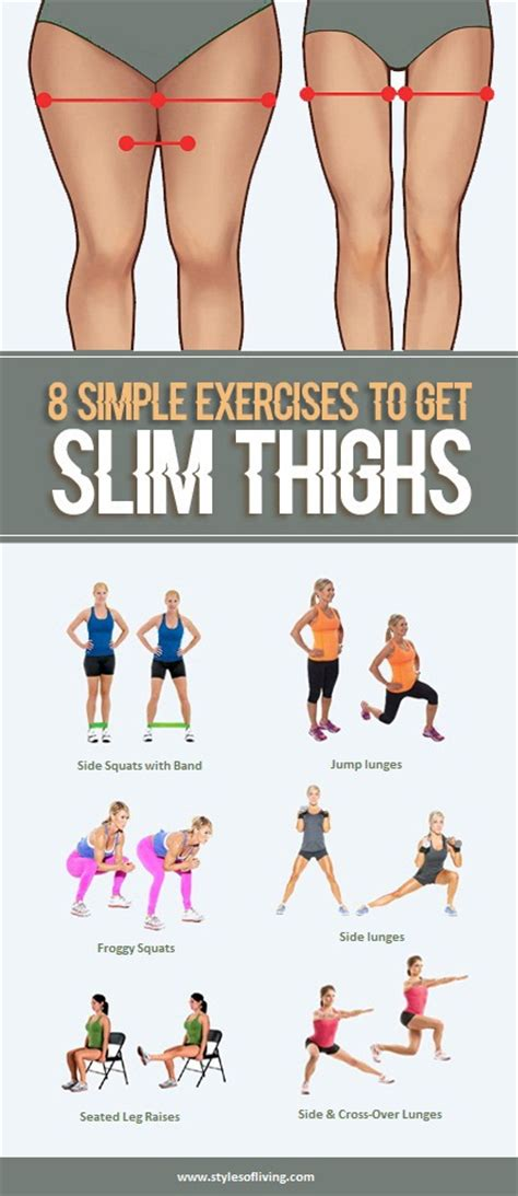 8 simple exercises for slim and tight thighs styles of
