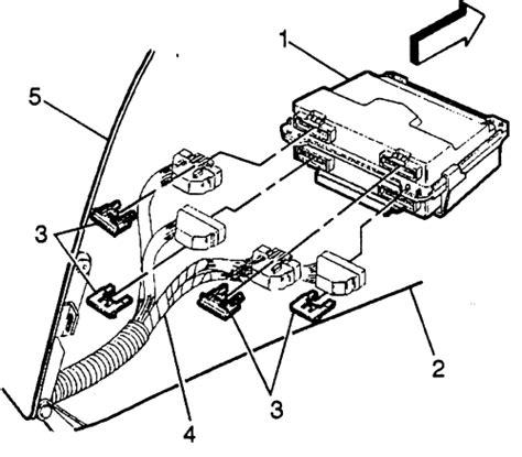service manual removal of pcm from a 1991 mercury sable mercury sable 1992 1995 mercury repair guides electronic engine controls powertrain control module pcm autozone com
