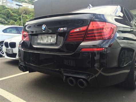 BMW F10 M5 Akrapovic Evolution exhaust system