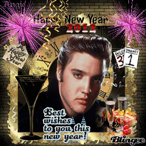 happy  year  elvis picture  blingeecom