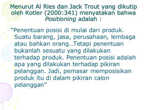 Perang Pemasaran Al Ries Dan Trout 123366482 manajemen pemasaran