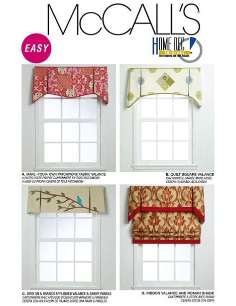 Window Treatment Patterns by Best 25 Valance Patterns Ideas On Valance