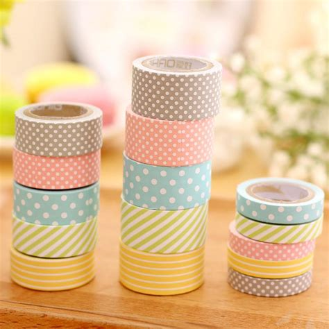 washie tape cute pattern paper washi tape 5 pack kawaii pen shop
