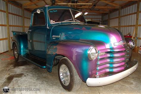 chameleon paint colors a 1949 chevrolet truck pro engines cars trucks