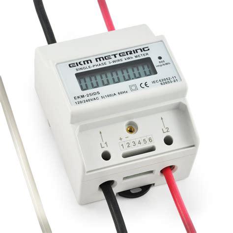 Kilowatt Kw Meter 3 Phase 96x96 Analog Tab electric kwh watt meter 120 240v 100a 3