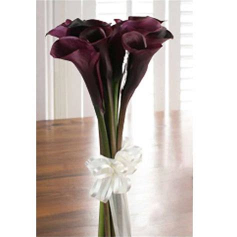 lily bouquet black calla lilies flower shop